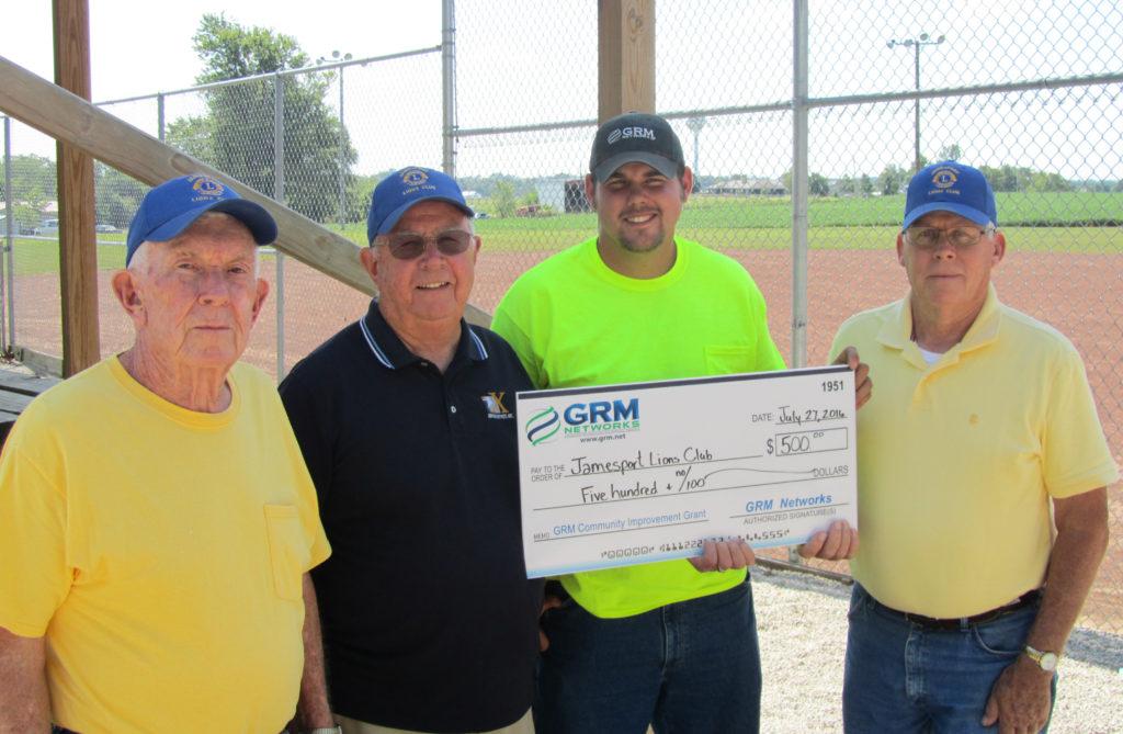 Jamesport Lions Club grant 2016