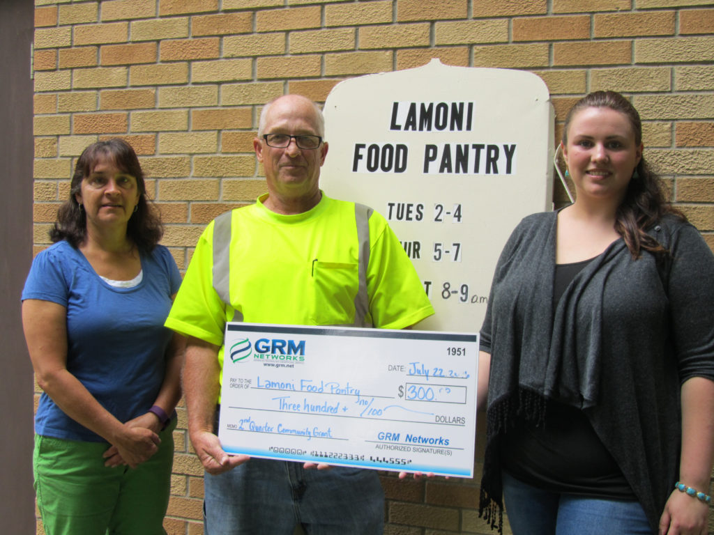 Lamoni Food Pantry Q2 2016