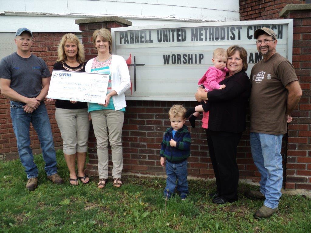q1 grant Parnell UMC