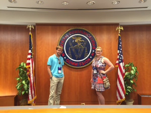Dale and Haize at the FCC.