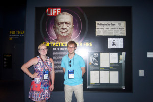 Haize and Dale at the Newseum